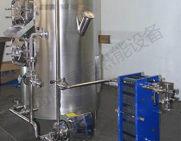 板式冷却器冷却啤酒麦芽汁