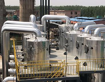 某药企MVR蒸发设备更换板式换热器