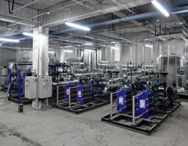 山东德州大型钢厂板式换热机组供暖案例