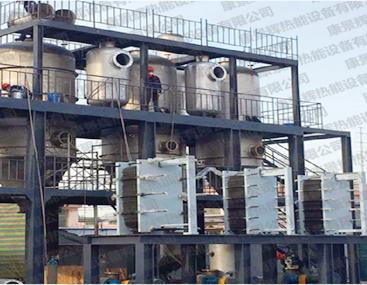 山东某化工厂使用康景辉板式换热器