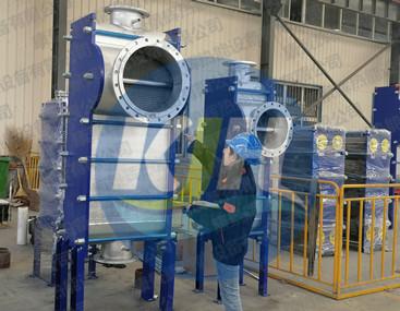 全焊接换热器应用于化工行业