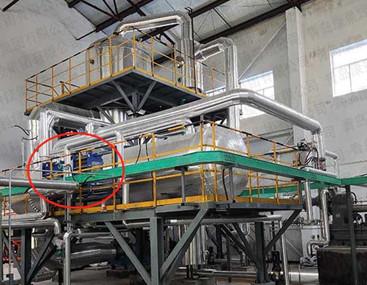 板式换热器厂家顺利验收氯化铵蒸发结晶系统