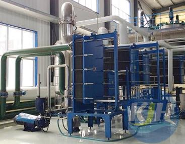 板式冷凝器在多效蒸发浓缩结晶的应用